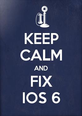 Fix iPhone iOS 6