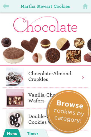 Martha Stewart cookie iPhone App Review