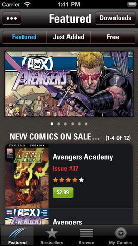 Marvel Comics iPhone App Review