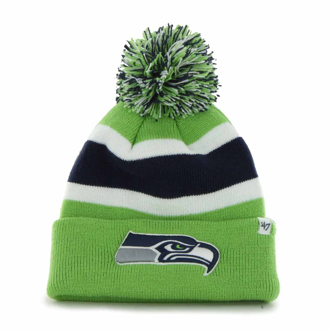 '47 Brand Seattle Seahawks Breakaway Knit Beanie - Neon Green
