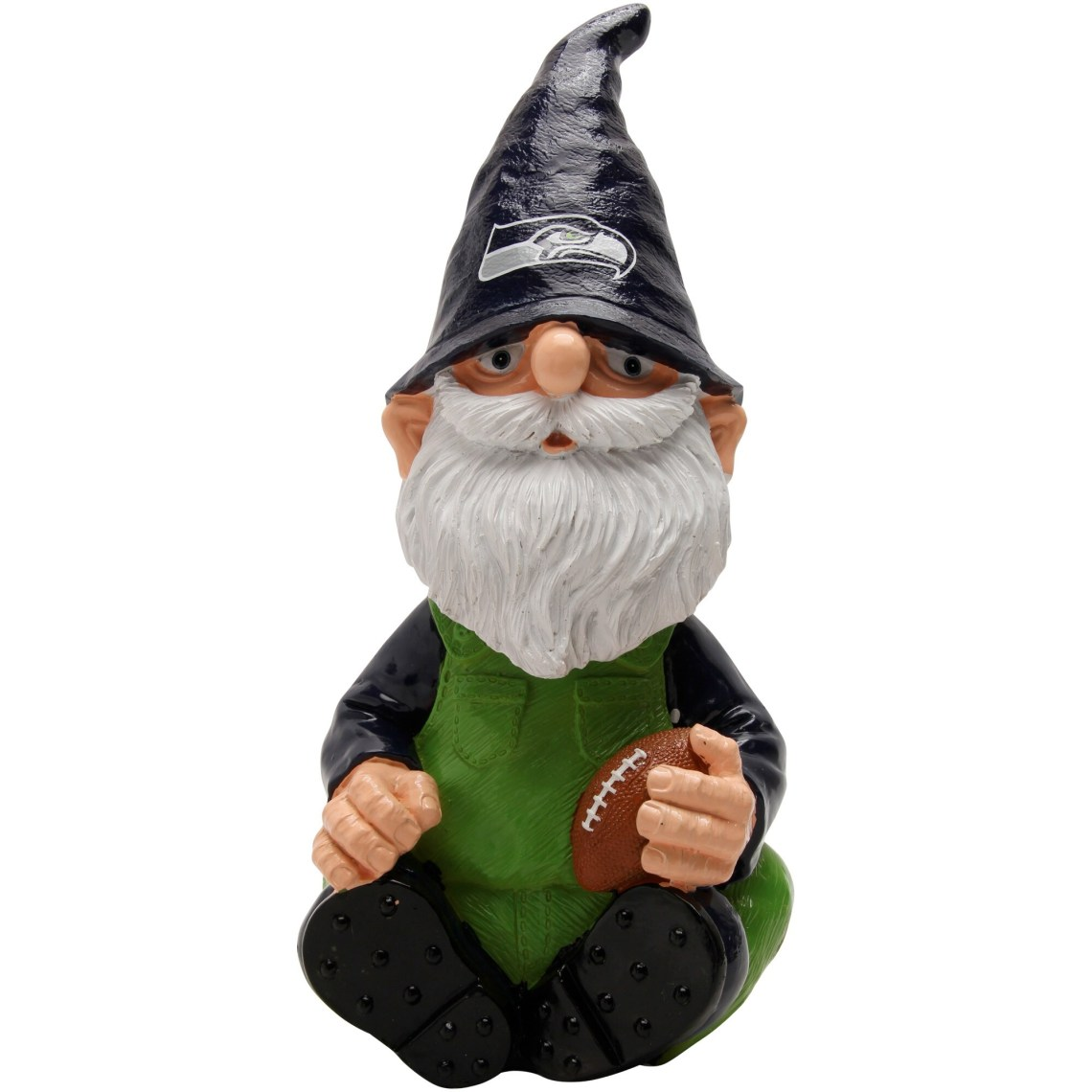 Seattle Seahawks Gnome Garden Bobblehead