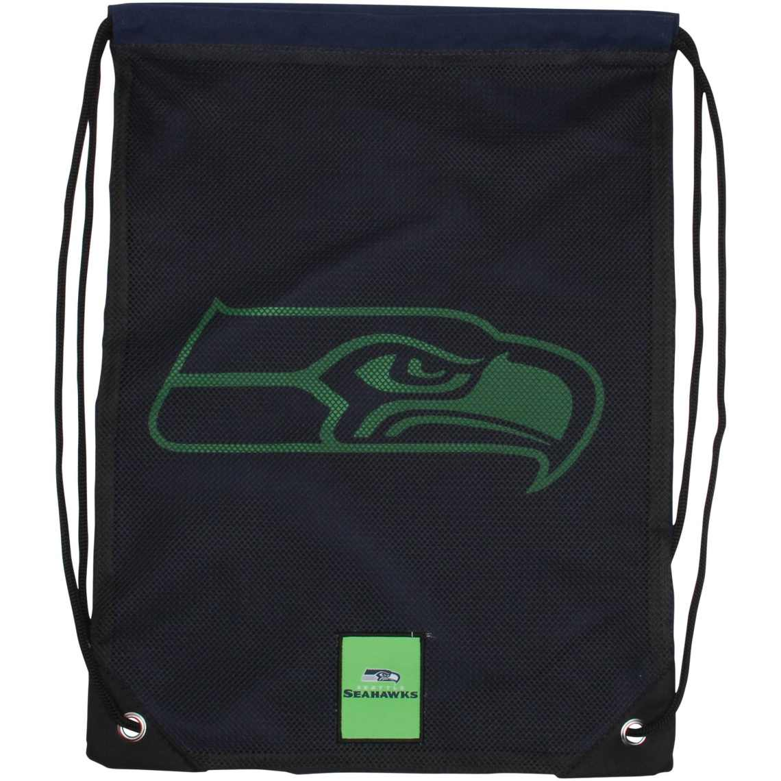 Seattle Seahawks Mesh Big Logo Drawstring Backpack