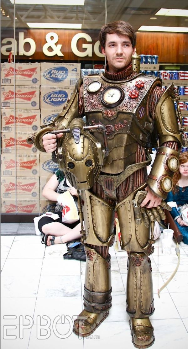 steampunk cosplay doctor who whovian cybermen cyberman