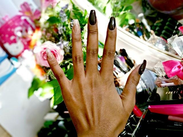 Manicure Monday Essie Smokin' Hot & Jessie Girl Burst Color Pop Polish