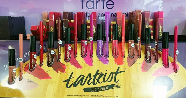 Tarte Tarteist Lip Paints & Lip Crayons