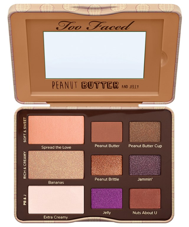 Too Faced Peanut Butter & Jelly Eyeshadow Palette for Spring 2016