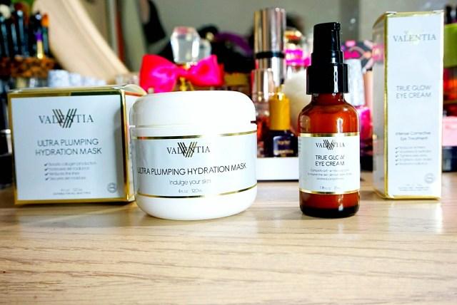 Valentia Ultra Plumping Hydration Mask + True Glow Eye Cream