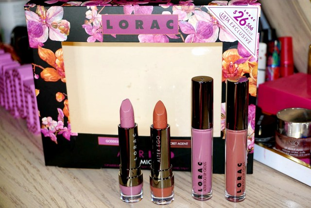 LORAC Goddess & Secret Agent Alter Ego Dynamic Duo Set
