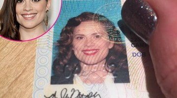 Hayley Atwell Dresses As Agent Carter Character in New License Photo