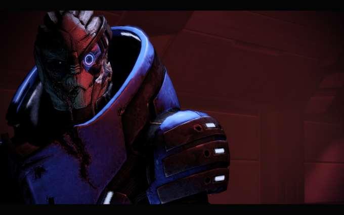 Garrus Vakarian in Mass Effect 2