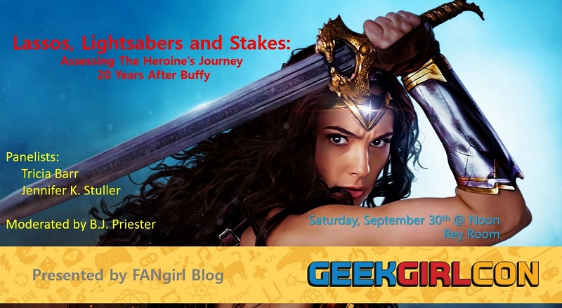Heroine's Journey Panel at GeekGirlCon