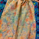 Elora's sundress, made from a pillow case
