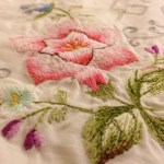 Fabric Friday: vintage table cloth