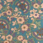 Fabric Friday. Vintage tablecloth