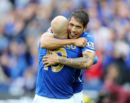 Ulloa and Cambiasso (LCFC.com)