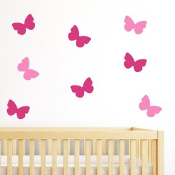 Small Crop Of Butterfly Wall Decor