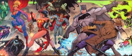 DC elseworlds Last Man Standing by Arthur Adams