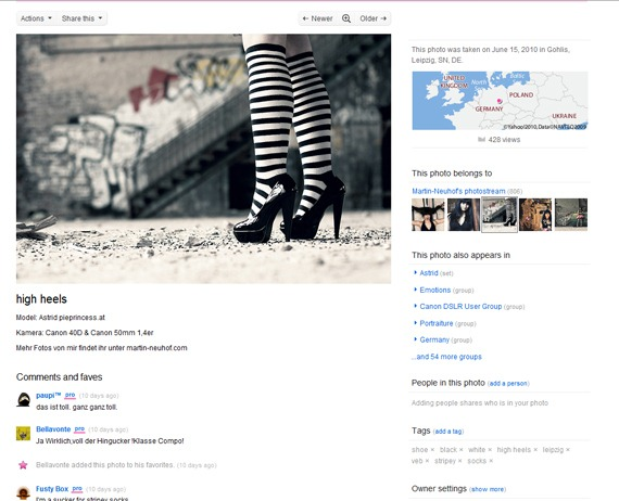 Flickr-Redesign