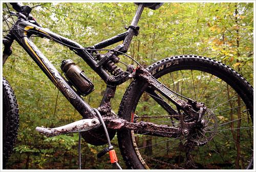 my muddy bike