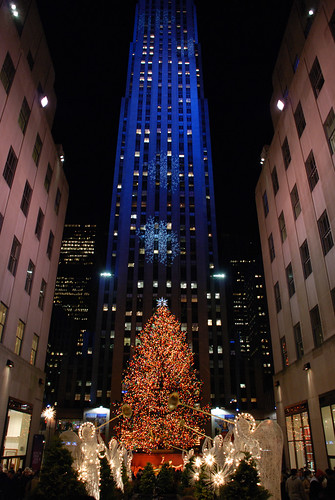 Rockefeller Center Xmas Tree '06