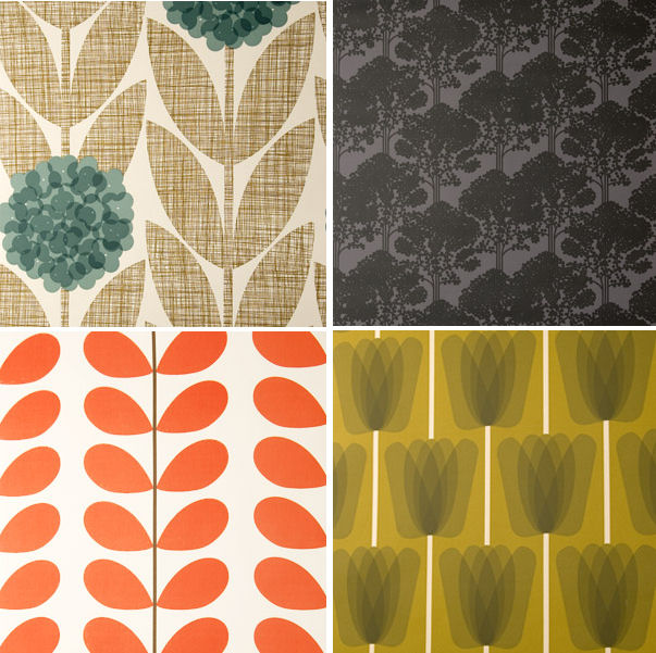 Orla Kiely Wallpaper and Things...