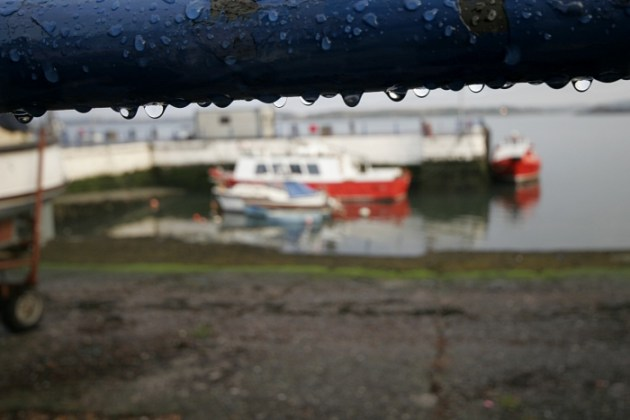 Water Drops in Cobh