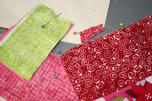 pin pieces right sides together, sew