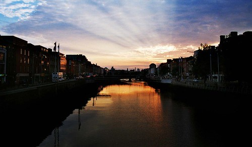 dublin sunset