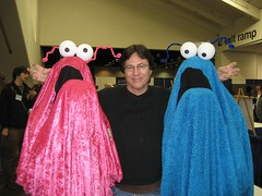 Richard Hatch & Muppets from flickr user sliny