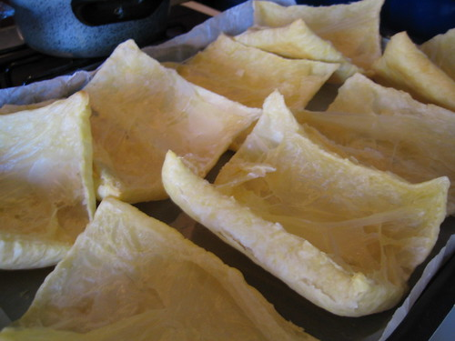 Phyllo dough shells