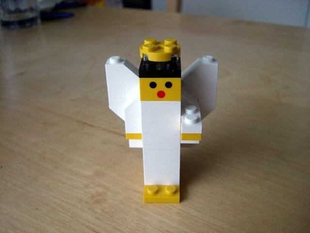 LEGO Adventsengel