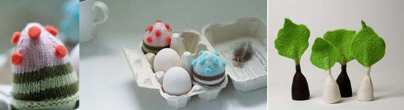 We Heart Egg Cozies
