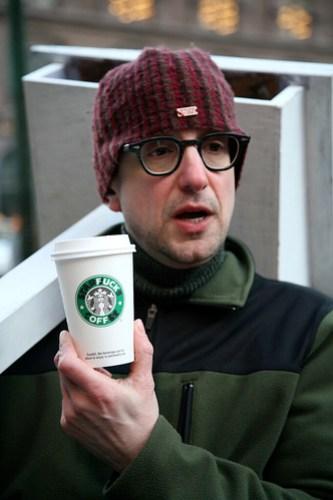 Reverend Billy Starbucks Protest