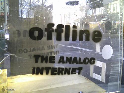 The Analog Internet