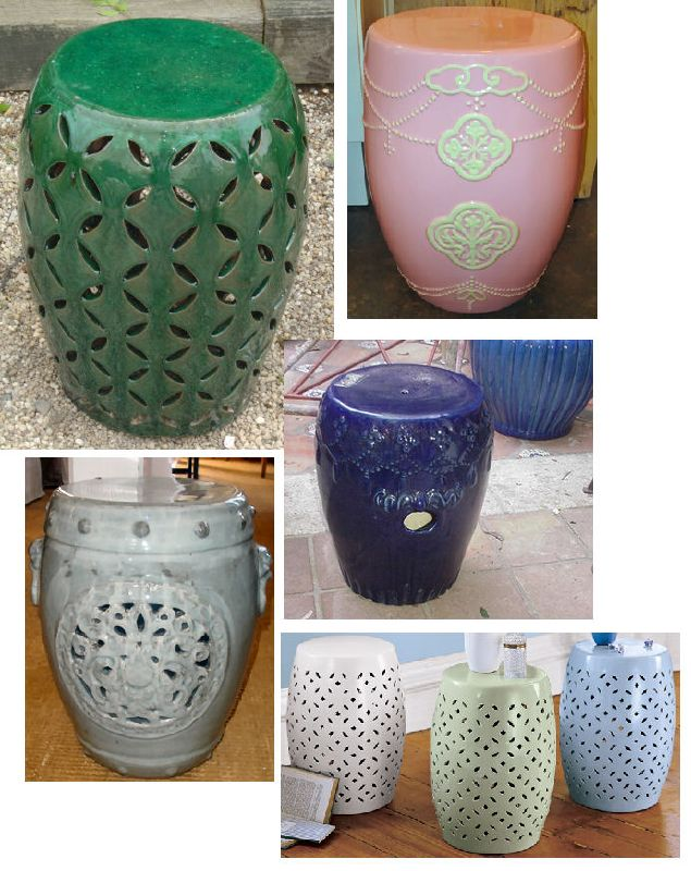 Chinese Ceramic Garden Stools - Yes or No?