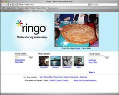 Ringo homepage