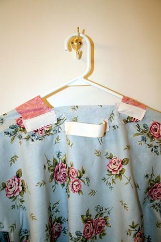 back of kimono robe