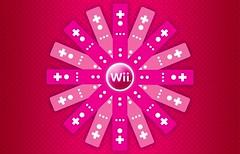 Wiimote Flower - Magenta