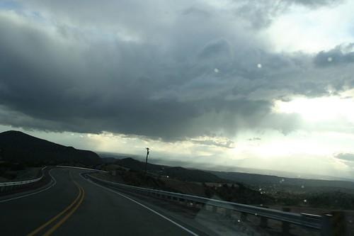 rainy road trip