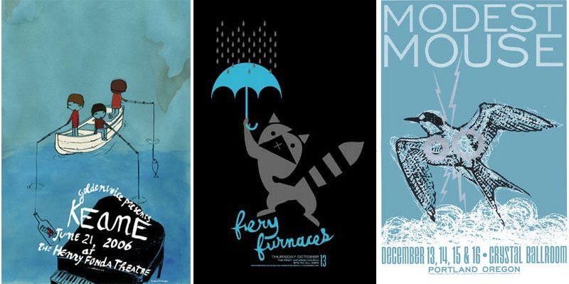 Rock Posters at Newbury Comics (+ Guide)