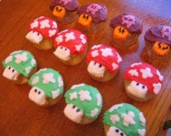 THIS ISN'T NEW! (a dozen mario cupcakes)