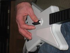 IMG_3865 guitar hero 2 guitar closeup