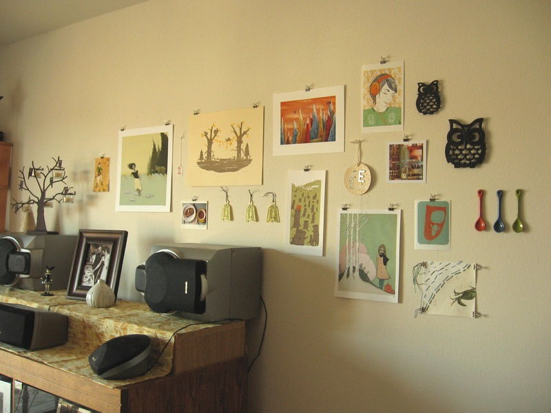 Show me your art wall!