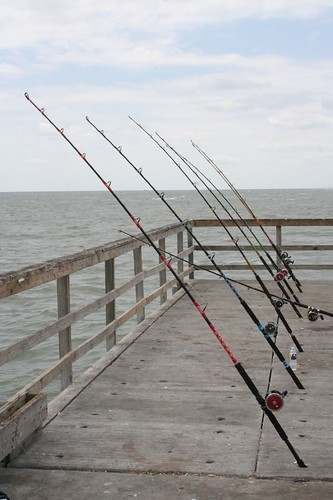 Fishing of the Bob Hall Pier