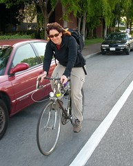 Park Blvd bike commuter