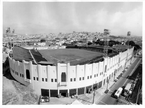 Seal Stadium, San Francisco, 1957