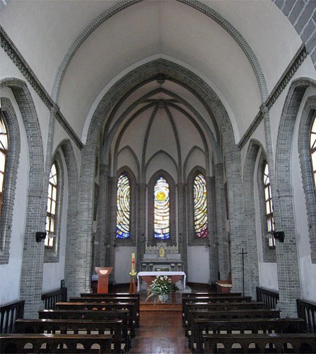 Interior, Wonhyoro Catholic Church