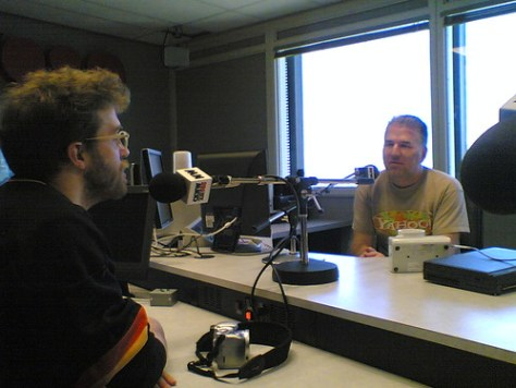 The Crazy Canucks on CKNW talkin' bout Podcasting by miss604.