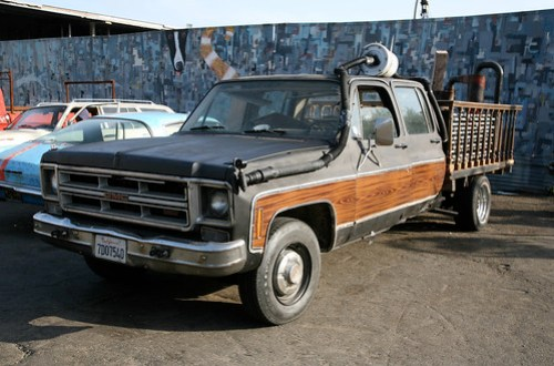Woodgas Pickup Truck