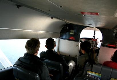 inside the seaplane